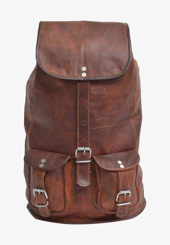 Rucksack - brown