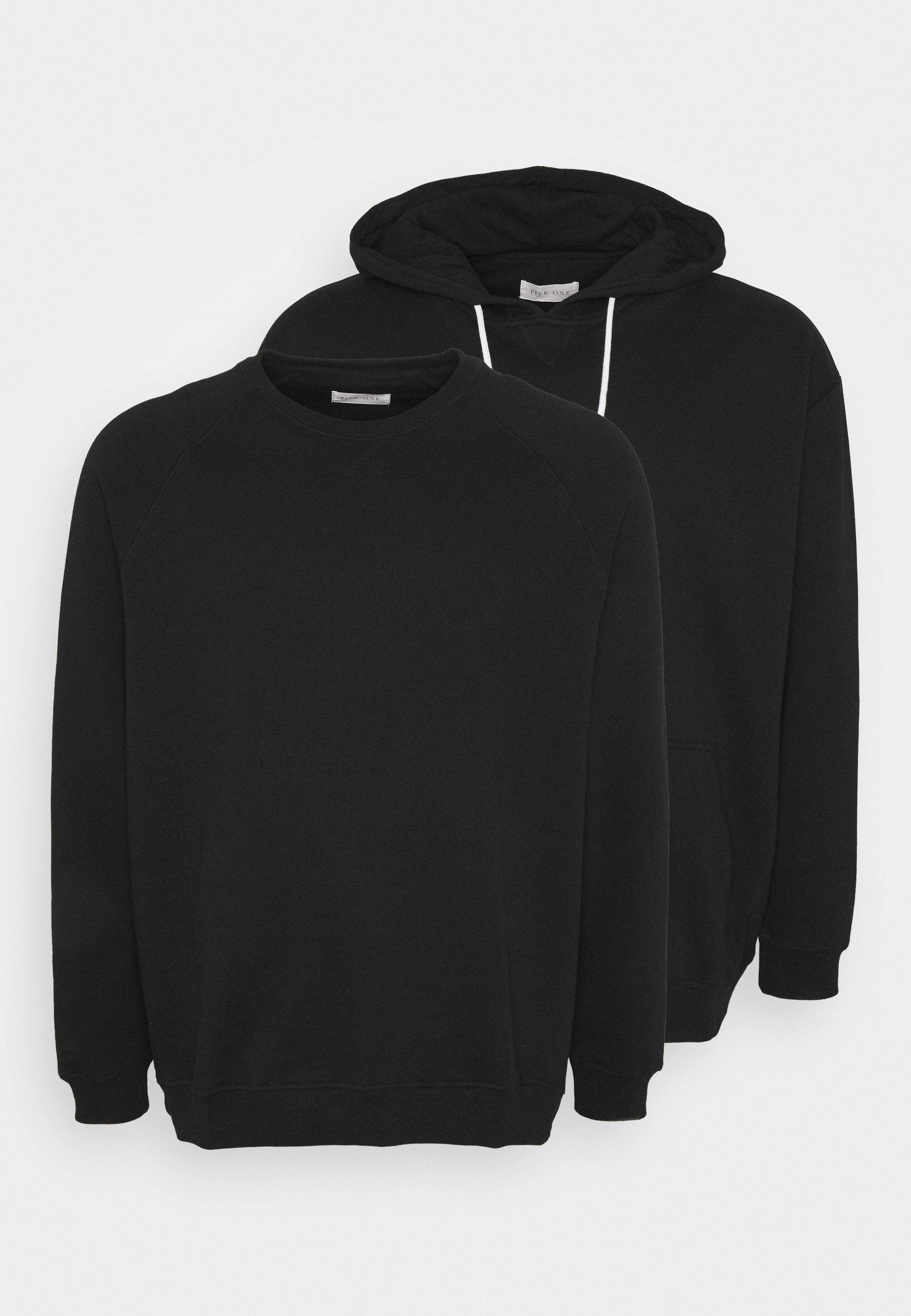 Pier One Sweatshirt - mottled grey