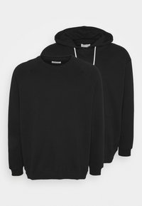 Pier One - 2 PACK - Sweater - black - 0