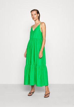 DRESS - Maxi-jurk - green bright