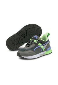 Puma - MIRAGE TECH BABIES' - Sneakers - castlerock-elektro green - 1