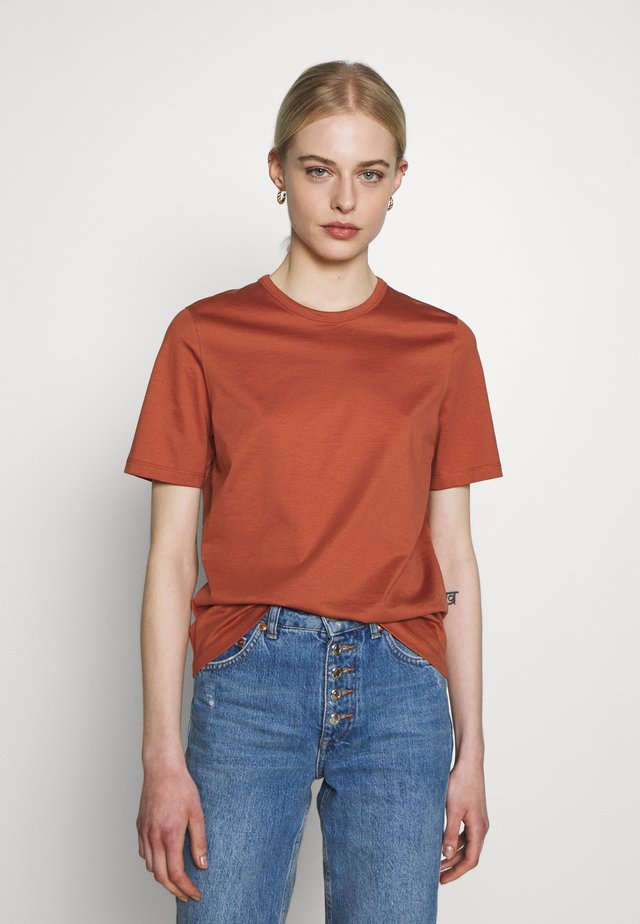 ROUND NECK - Basic T-shirt - rose tan
