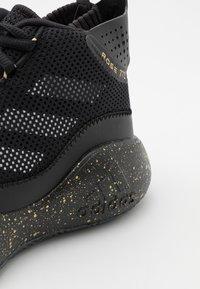 adidas Performance - ROSE 773 2020 - Basketball shoes - core black/gold metallic/footwear white - 5