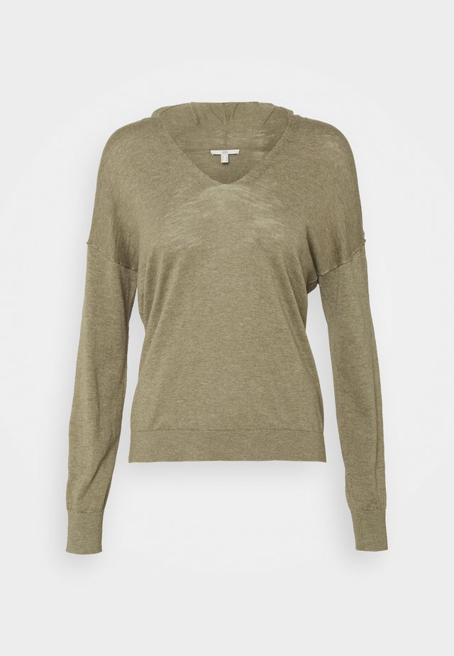 HOODIE - Bluza z kapturem - light khaki