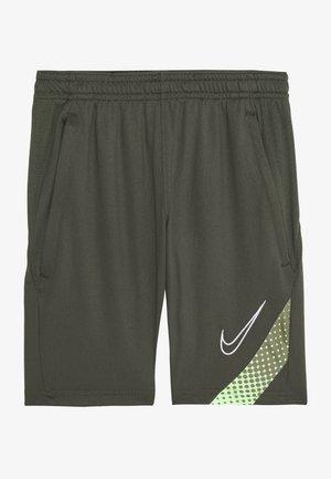 DRY ACADEMY SHORT - Pantaloncini sportivi - cargo khaki/thermal green/white