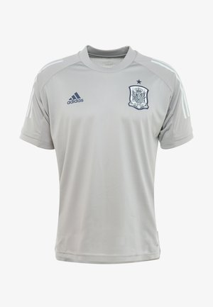 SPAIN FEF TRAINING SHIRT - Printtipaita - grey
