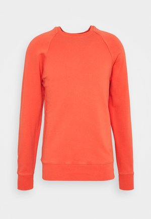Sweatshirt - mandarin red