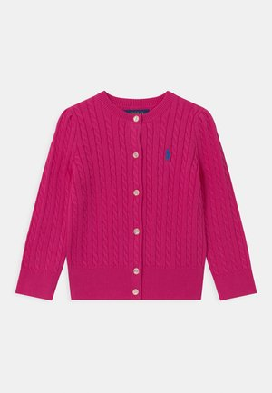 MINI CABLE - Cardigan - accent pink