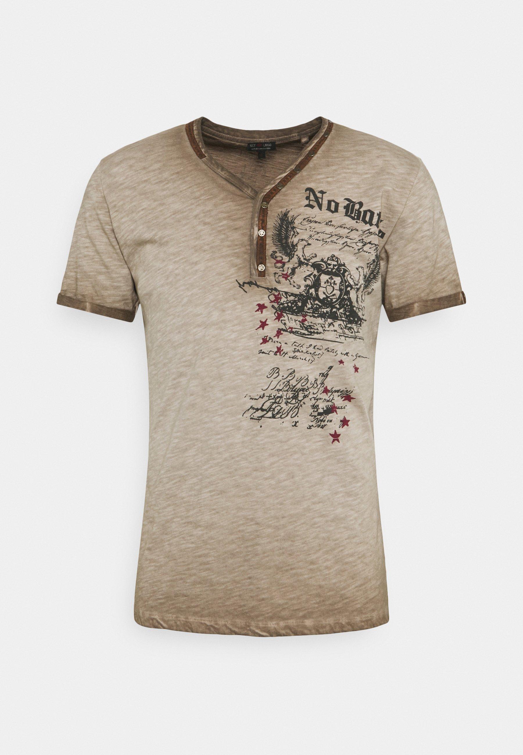 Homme BATTLE BUTTON - T-shirt imprimé