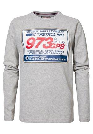 Sweatshirt - light grey melee
