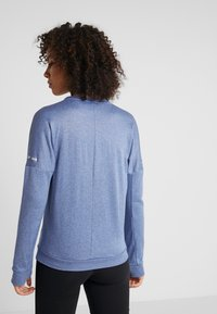 adidas Performance - CLIMALITE RUNNING LONG SLEEVE PULLOVER - Sudadera - croyal - 2