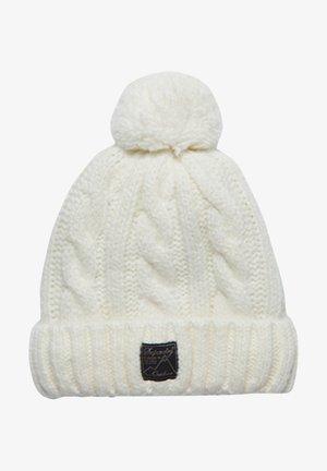SUPERDRY - Beanie - winter white