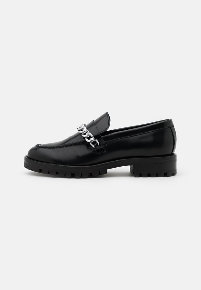 OXFORD SHOES - Instappers - black