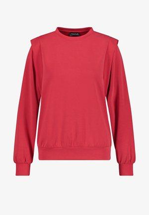 RUNDHALS  MIT SCHULTERBETONUNGRUNDHALS  - Sweatshirt - electric red