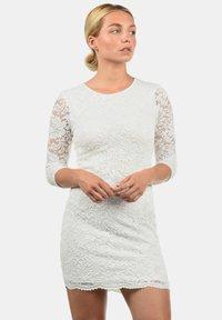 Vero Moda - EWELINA - Shift dress - white - 0