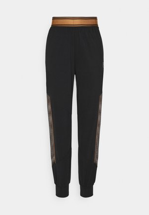 NURIA HIGH WAIST PANTS - Pantaloni - black