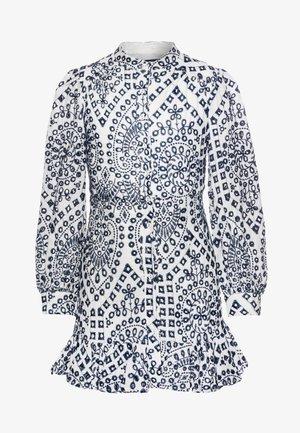 PARA FRONT DRESS - Day dress - navy