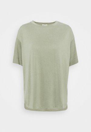 ECOV TEE - Print T-shirt - light khaki