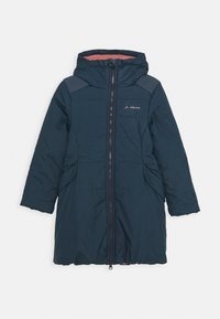 Vaude - KIDS GREENFINCH COAT GIRLS II - Zimní kabát - steelblue - 0