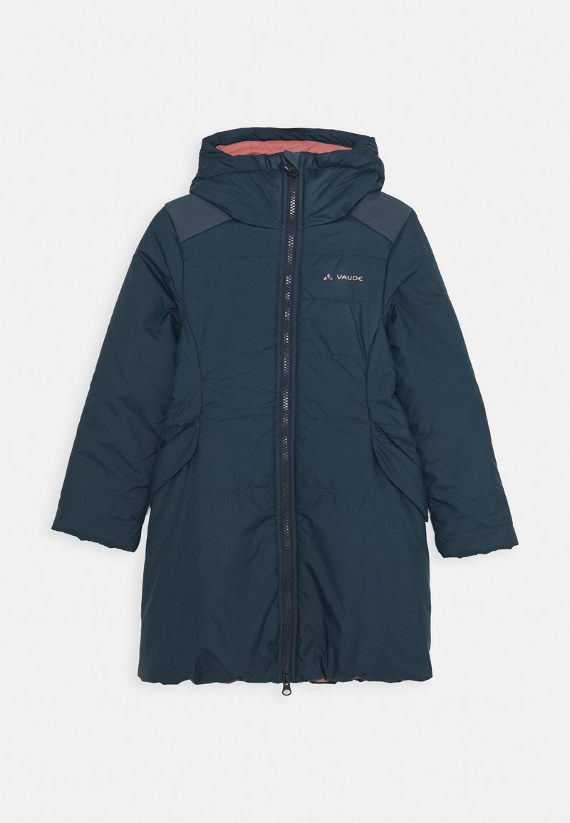 Vaude - KIDS GREENFINCH COAT GIRLS II - Zimní kabát - steelblue