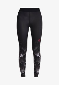 BIDI BADU - Legginsy - black/white - 4