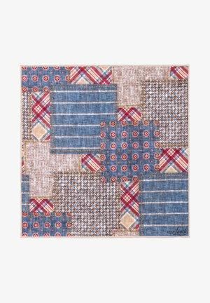 Pocket square - bleu
