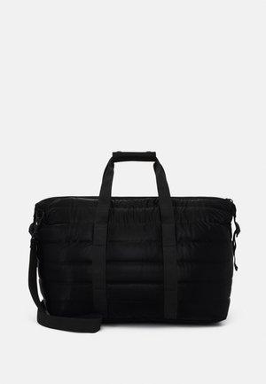 QUILTED UNISEX - Weekend bag - black