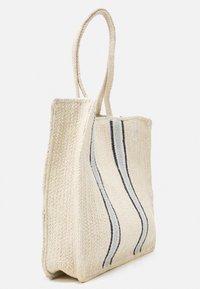 Pieces - PCGIT SHOPPER - Tote bag - nature/sky captain/plein air - 3