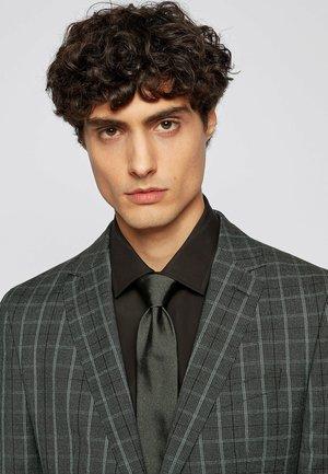 Tie - dark green