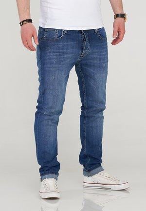 MJBOBBY - Slim fit jeans - medium blue