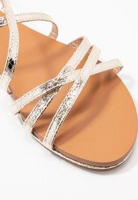 Head over Heels by Dune - LIYA - Sandals - gold - 2