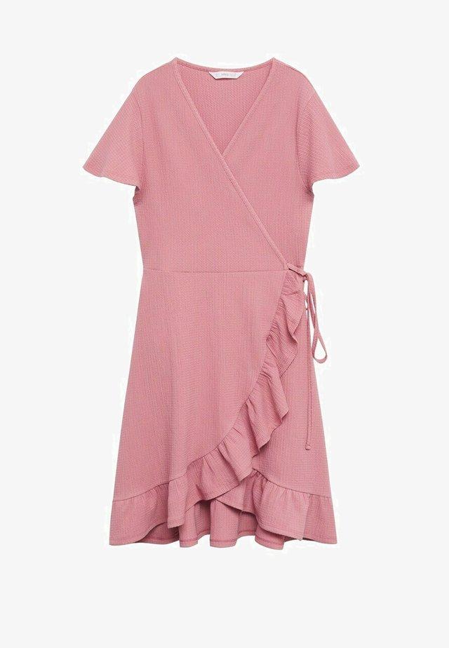 Korte jurk - rose