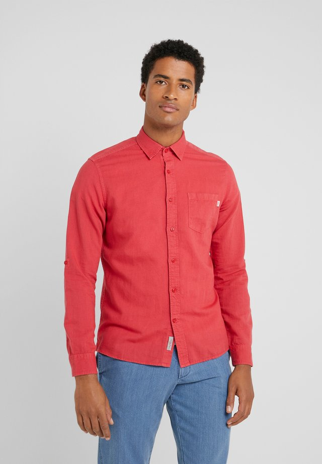 Chemise - deep red