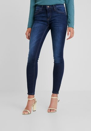 ONLKENDELL REG ANKLE - Jeans Skinny Fit - dark blue denim