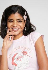 NEW girl ORDER - ZADDY CHRISTMAS - T-shirt med print - pink - 4