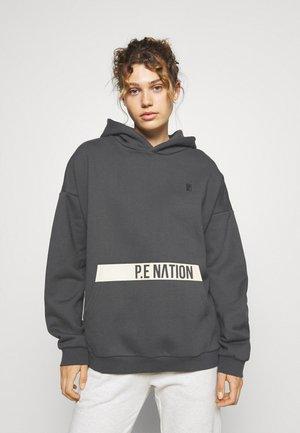 MOMENTUM HOODIE - Sweatshirt - grey mid