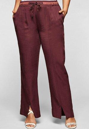 Trousers - barolo