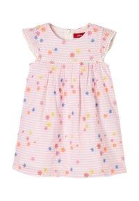 s.Oliver - Day dress - light pink stripes & flowers - 2