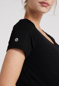 Cotton On Body - MATERNITY GYM TEE - Basic T-shirt - black - 6