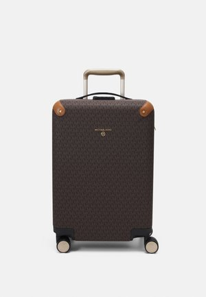 TRAVEL HARDCASE TROLLEY - Wheeled suitcase - brown/acorn