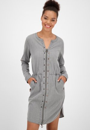 Denim dress - light grey denim