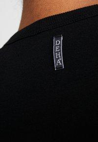 Deha - FELPA GIROCOLLO - Sweatshirts - black - 7