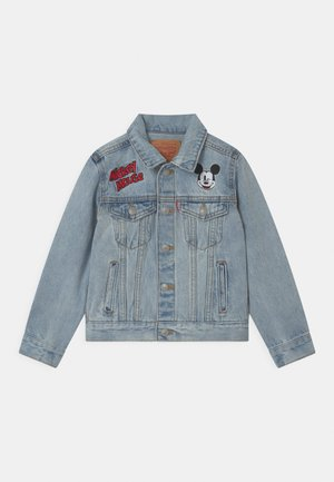 MICKEY MOUSE TRUCKER UNISEX - Kurtka jeansowa - light-blue denim