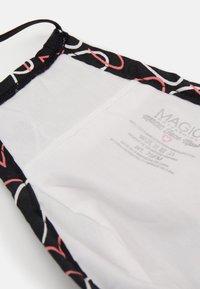 MAGIC Bodyfashion - FACE MASK - Masque en tissu - black - 3