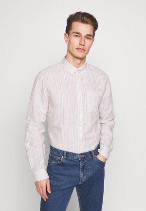 STRIP BLOCK - Košile - beige
