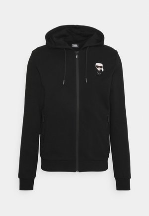 HOODY JACKET - Sweatjacke - black