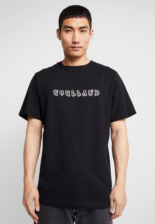 ESKILD - Print T-shirt - black