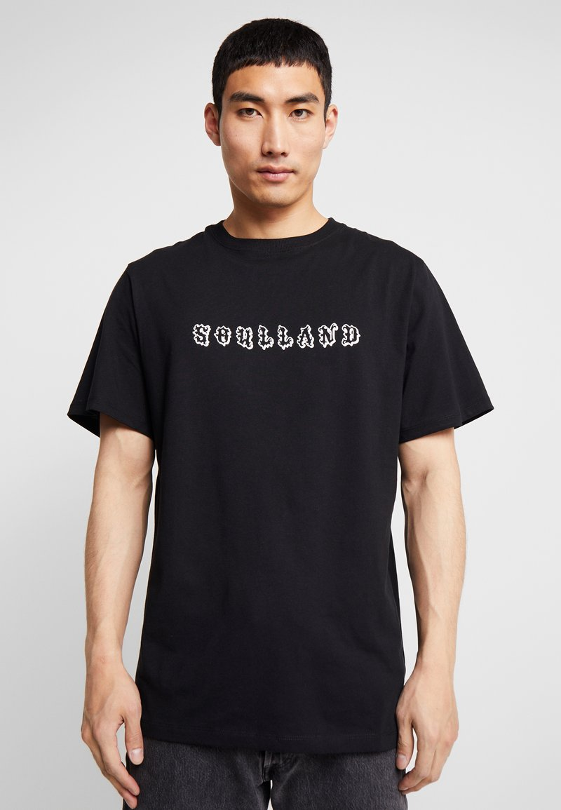 Soulland - ESKILD - T-shirt print - black
