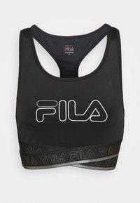 ALEVTINA BRA - Medium support sports bra - black