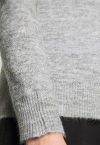 Gina Tricot - SANDRA HOODIE - Jumper - grey melange - 3